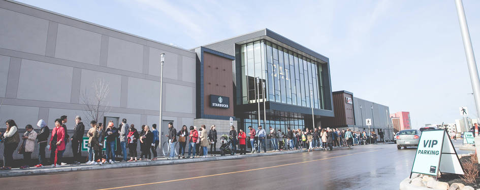 Harvard Developments Inc. Alongside Partners Forster Projects and Ivanhoe Cambridge Announce Grand Opening of 'Outlet Collection Winnipeg'