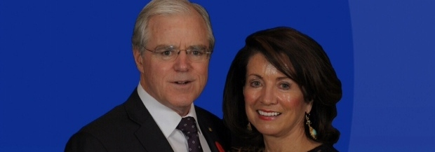 Paul and Carol Hill Celebrate 2014 Citizens of the Year Award