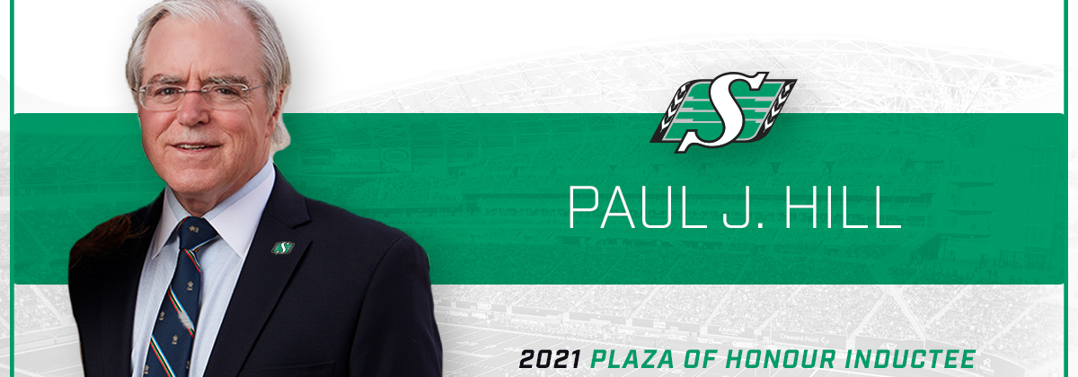 Paul J. Hill to Be Inducted in to Rider's Plaza of Honour